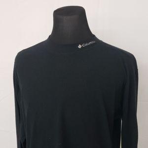 Columbia Fleece Long Sleeve Crew Neck Tee Shirt
